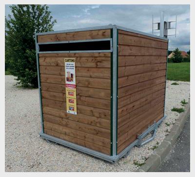 Vente de conteneurs d chets et bacs roulants sep for Fabricant conteneur
